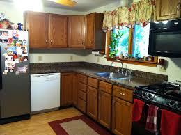 Granite Kitchen Makeovers - under 350 kitchen makeover u2013 part one painted granite counters