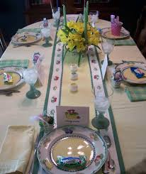 Easter Banquet Table Decorations by Easter Table Decorations Spring Table Decorating Centerpieces