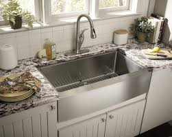 Kitchen Faucet For Granite Countertops Kitchen Best Open Shelving Ideas For Interesting Kitchen Design