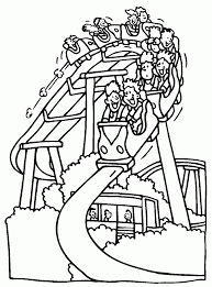 fun amusement park coloring pages for kids dcb printable