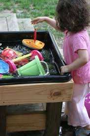 rice table for kids make a diy water table for less than 15 water tables water and