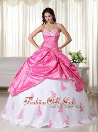 quinceanera dresses white and white gown sweetheart floor length taffeta appliques