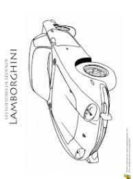 coloriage voitures lamborghini sur hugolescargot com