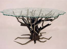 unique and creative tree table designs
