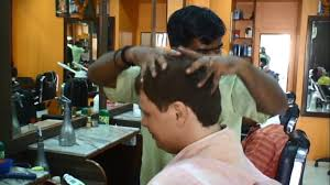 massage at indian barbershop after haircut 1 youtube