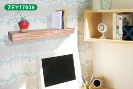 Thick Wood Floating Shelves by Premium Tree Texture Veneer Thick Wood Floating Wall Shelf Buy