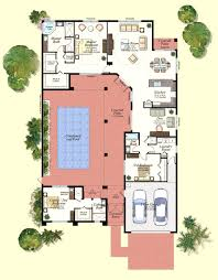 floor plans with courtyards home planning ideas 2017 endearing