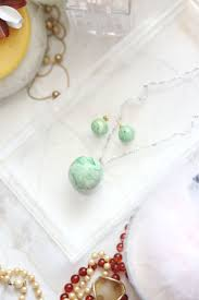 earrings ideas diy marble jade earrings and pendant necklace a beautiful mess