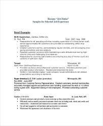 cashier resume responsibilities cashier job dutie cashier resume template professional cashier