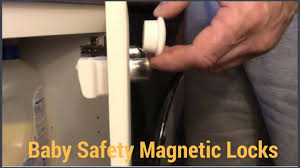 cabinet magnetic lock video instruction youtube