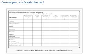 calcul surface utile bureaux calcule de surfaces plancher taxable débit de fuite