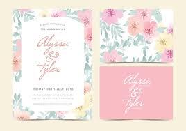 wedding invitations vector wedding invitation free vector 5205 free downloads