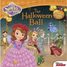 halloween ball includes stickers sofia paperback