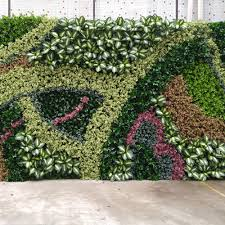 top quality artificial green wall synthetic plant decoration