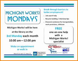 Mitalent Org Resume Job Seekers Michigan Works Association Invoice Builder