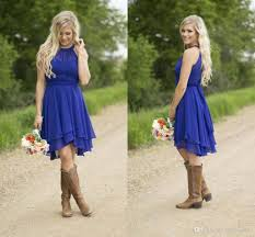 blue flower dresses with cowboy boots dress images