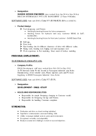exle of a personal profile for resume new resume uday
