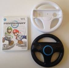 wii mario brothers kart bundle nintendo cart racing game 2