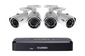 lorex ln10802 84w 2k ip security cam system 8 ch nvr 4 hd outdoor