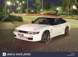 nissan silvia fast and furious modified japanese nissan s13 180sx silvia sports car stock photo