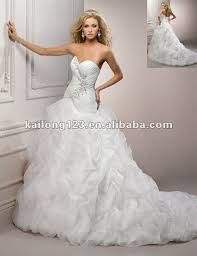 Chapel Train Wedding Dresses Turmec Ball Gown Sweetheart Tulle Chapel Train Wedding Dress