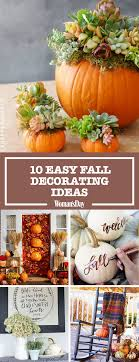 fall decorations ideas 12 easy fall decorating ideas best autumn decor tips