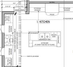 kitchen floor plans islands kitchen floor plans with islands 6 elafini