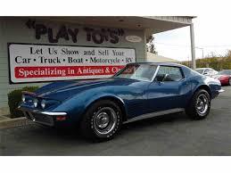 corvette stingray matte black 1970 chevrolet corvette for sale on classiccars com