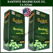 ramtirth brahmi hair oil xl 200ml herbal ramtirth brahmi hair oil hair loss us on popscreen