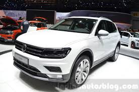 volkswagen tiguan white 2016 vw tiguan to arrive in showrooms across india this may