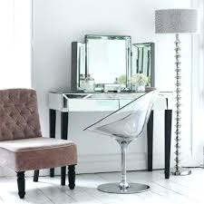 Clear Vanity Table Clear Vanity Chair Clear Vanity Table With Clear Acrylic