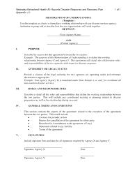 memorandum of understanding template u2013 bikeboulevardstucson com