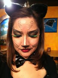 How To Do Cat Makeup For Halloween by Cat Face Makeup For Halloween Halloween Cat Makeup She Might Be