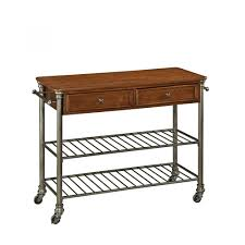 The Kitchen Collection Inc The Orleans Kitchen Cart Homestyles