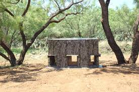 Elevated Bow Hunting Blinds Trailer Deer Blinds Elevated Trailer Deer Blind North Texas