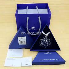 swarovski large annual edition ornament 2008 mib 942045