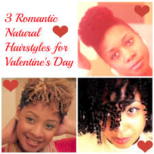 3 romantic natural hairstyles for valentine u0027s day natural hair