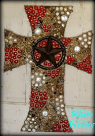 home decor crosses western decor home decor custom made by stone frenzy decorative