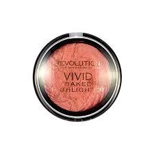 Gold Lights Makeup Revolution Vivid Baked Highlighter Rose Gold Lights