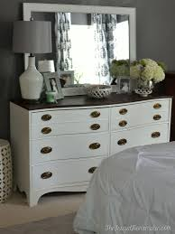 Bedroom Mirror Furniture by Painted Dresser And Mirror Makeover Master Bedroom Furniture