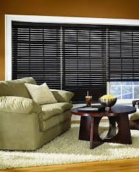 Wood Grain Blinds Enhanced Grain Stained Privacy No Holes Faux Wood Blinds