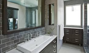 mosaic tile backsplash bathroom wall mount square glass mirror