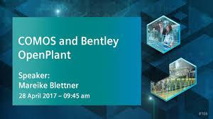 bentley turquoise comos und bentley openplant ein innovativer anlagenengineering