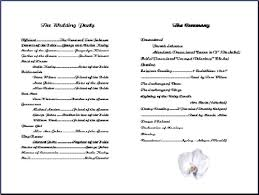 church wedding programs 22 images of church bulletin template word leseriail