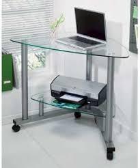 Glass Corner Desk Clear Glass Corner Desk Co Uk Kitchen Home