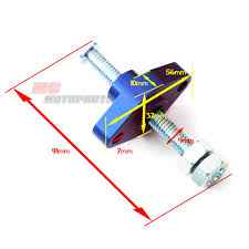 cnc blue manual cam chain tensioner fit atv suzuki ltz 400 year 03