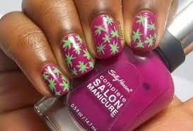 lacquernerd spongebob coral nails