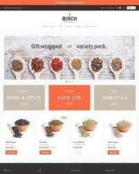 birch theme providence ecommerce website template
