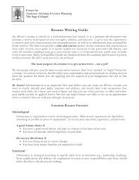 Chronological Order Resume Example Academic Advisor Resume Examples Resume For Your Job Application