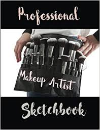 make up artist books professional makeup artist sketchbook 54 poses with